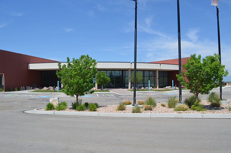 entrance to the Utah Career Center in Salt Lake City, Utah